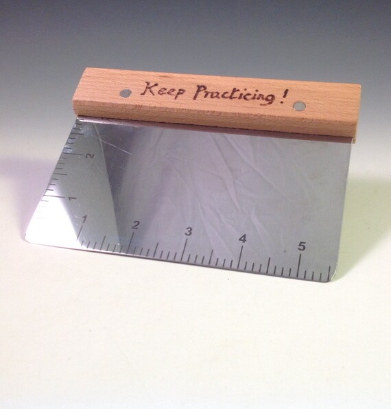Wedging Table Scraper Stainless