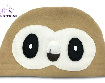 Pokemon Starter Hat - Rowlet - Fleece Pokemon Hat - Super Cozy Beanie