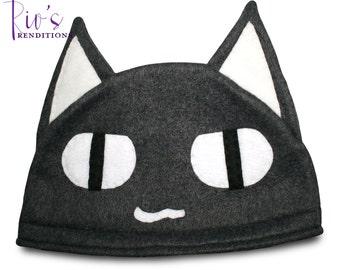 Sony - Kuro Hat / Fleece Hat / Winter Hat / Sony Hat / Cat Hat / Video Game Characters