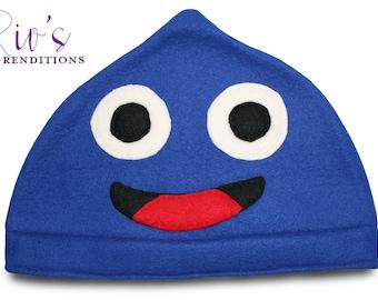 Dragon Quest - Slime Hat / Fleece Hat / Winter Hat / Dragon Quest Hat / Video Game Characters