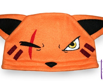 Final Fantasy VII - Red XIII Hat / Fleece Hat / Winter Hat / Final Fantasy Hat / Video Game Characters