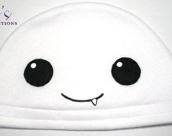 Doctor Who - Adipose Hat / Fleece Hat / Winter Hat / Doctor Who Hat