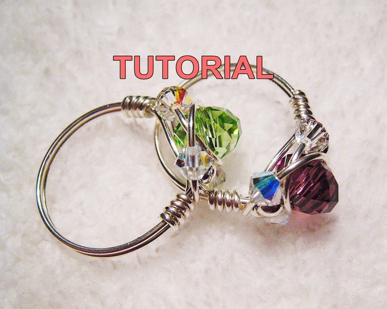 Sparkly Crystal Ring Tutorial