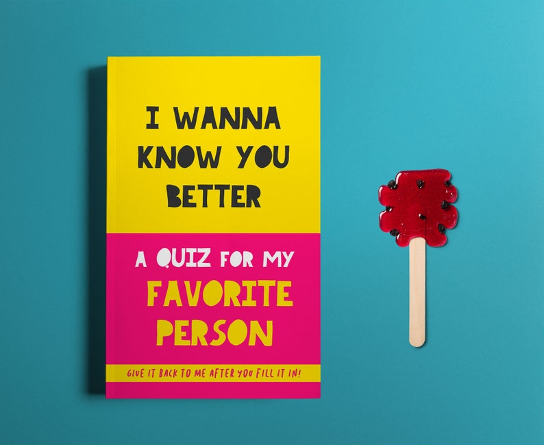 Gift For Boyfriend Quiz Book Couples