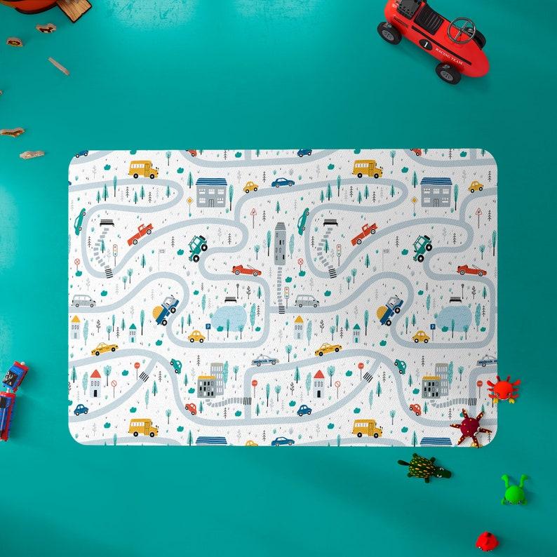 Kids rug Nursery rug Rugs for Kids room soft colors image 0