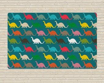 Nursery rug, Dinosaur rug, Kids Rug, Boys Room Decor, kids carpet, colorful rug, kids room decor, colorful rug, nursery decor, children rug