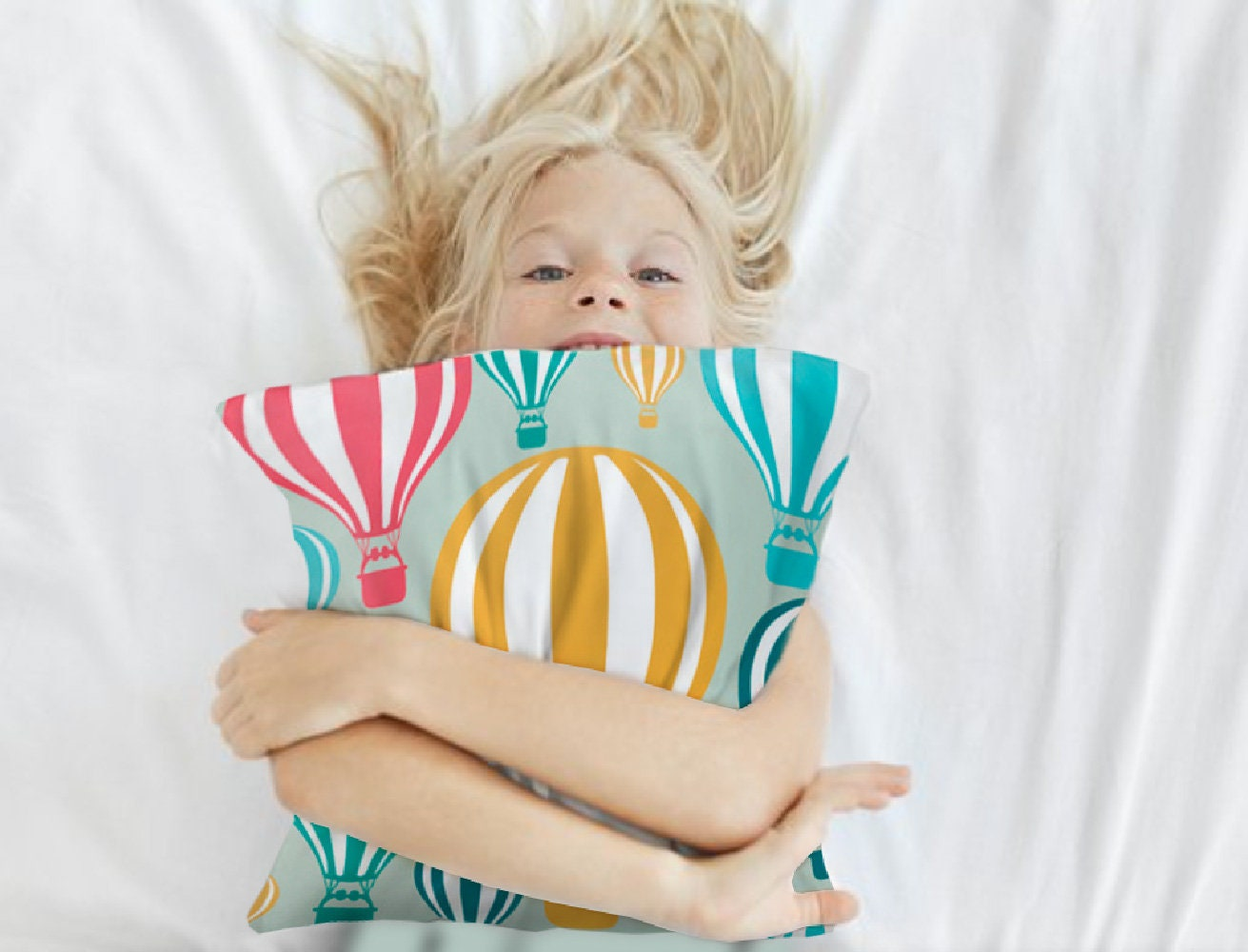 7 Inspiring Kid Room Color Options For Your Little Ones: Cute Accent Pillows Nursery Pillow Balloons Pillow