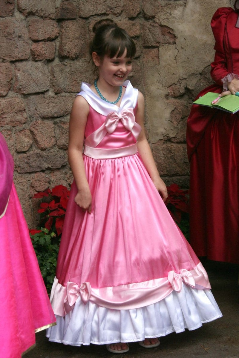 Cinderella S Pink Gown Made By The Mice Custom Child Size