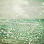 Sea of Happiness 24x36 Gallery Wrap Canvas for Ashley - premium option