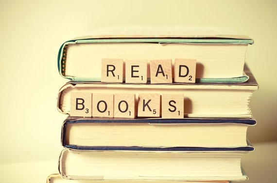 Books Bookworm Book Lover Dreamy Wall Art Kids Room Etsy