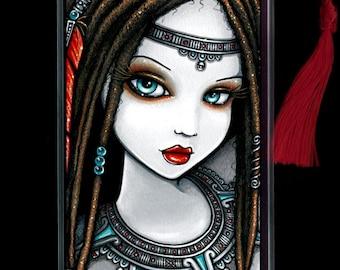 Zaria BOOKMARK Aztec Dreadlocks Exotic Beauty