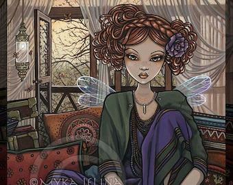 Bohemian Fairy Flower Child Dakota BIG Prints
