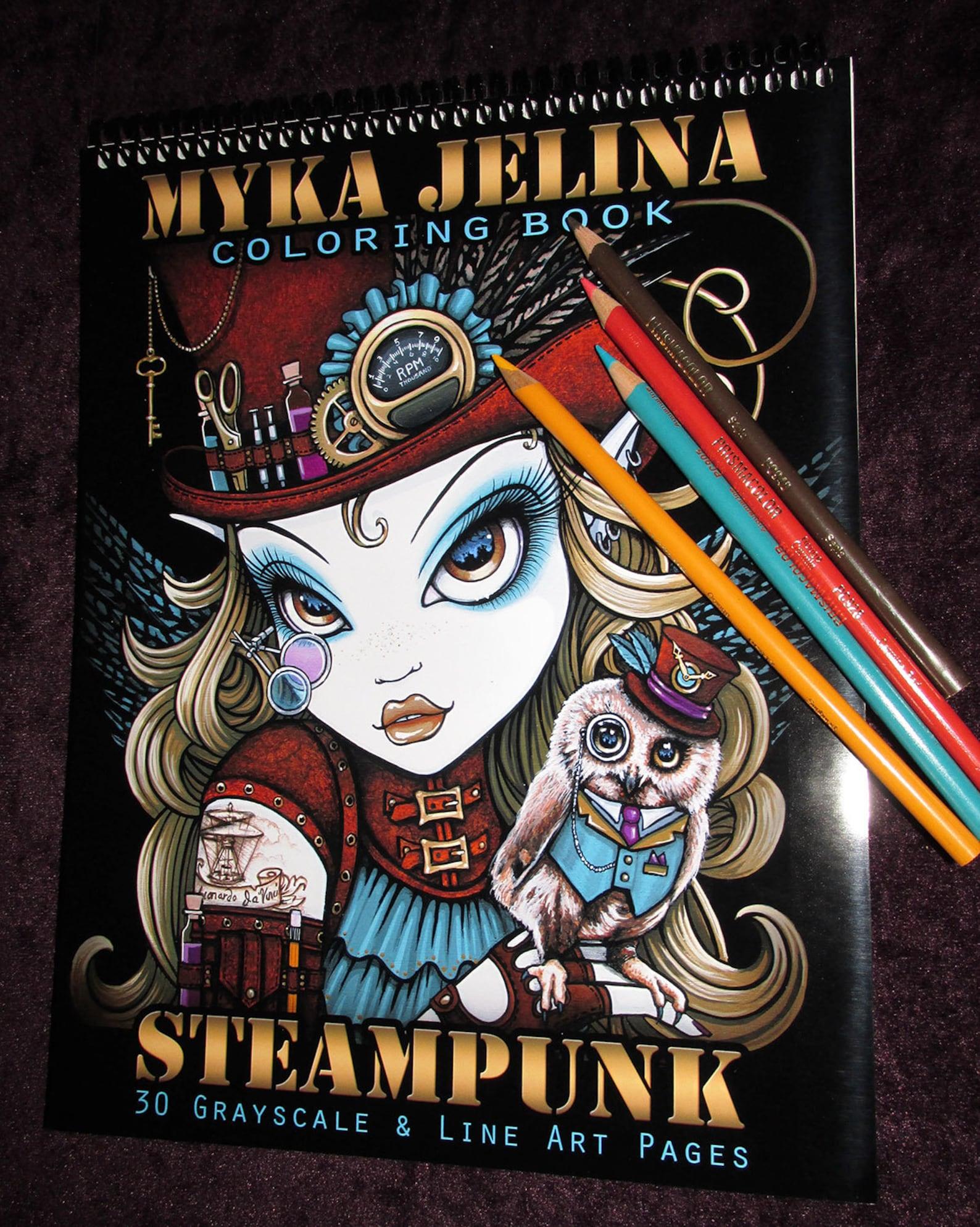 Steampunk Beauties - Myka Jelina
