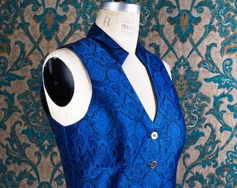 Luxurious Brocade Vests --- Custom Made for Women