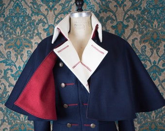 Regency and Military Caped Greatcoats --- For Women