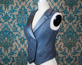 The Highway Woman Tuxedo---Custom Made Vest and Pants