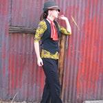 Custom Wool Vests--For Women