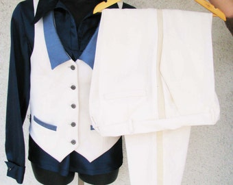 Ivory Wedding Suit for Women---Custom Made