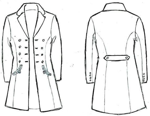 Dapper Frock Coats----Custom Victorian Suits for Women