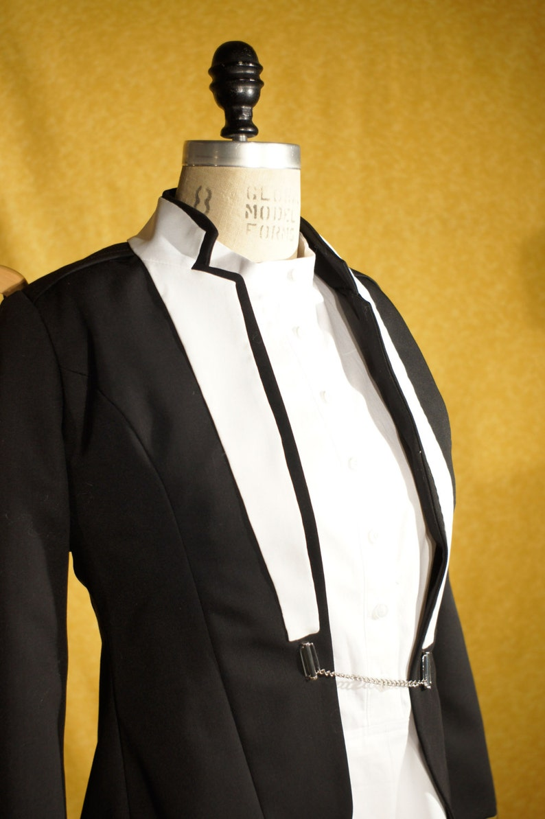 Black and WhiteCustom Women's Tuxedos image 0