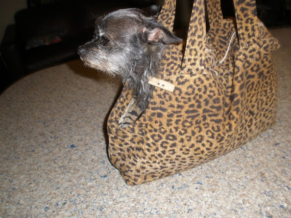 Pet Carrier  special order one!  just need size of dog!  For small dogs as seen in photo!
