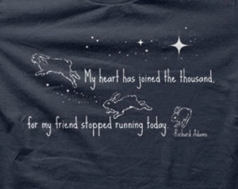 My Heart Has Joined The Thousand House Rabbit Shirt