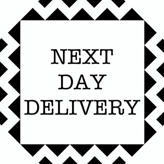 Next Day Delivery - UK only - Royal Mail Special Delivery Guaranteed - Upgrade -