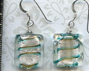Silver Swirls Sterling Silver Earrings