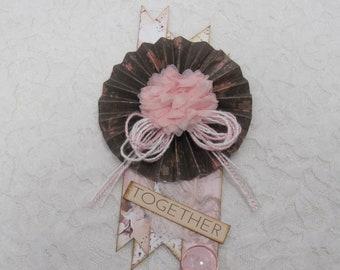 Shabby Chic Rosette Embellishment