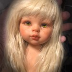 Paola Reina Las Amigas OOAK Doll Repaint Baby Reborn Girl Gift Collectible Home Decor Free Shipping