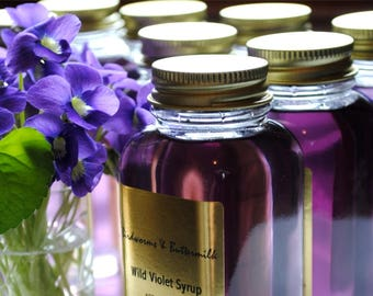 Wildcrafted Violet Syrup