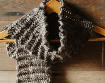 Handknit Alpaca Scarf