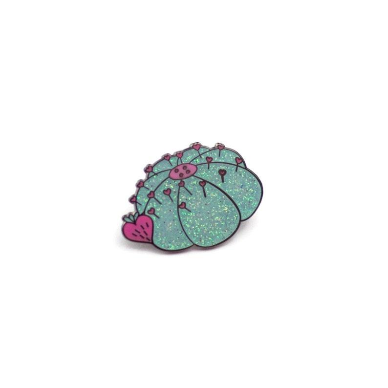 Pretty Pincushion  Love Sewing Enamel Pin image 0