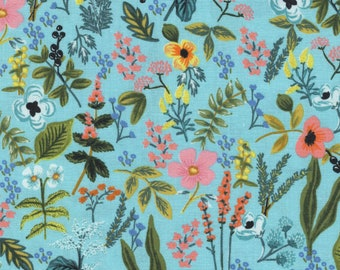 Cotton + Steel Herb Garden Mint, Amalfi, Rifle Paper Fabric