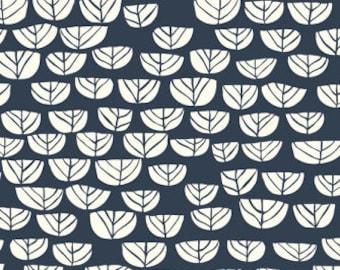 Hidden Garden Sproutlet Dusk Organic Cotton Fabric