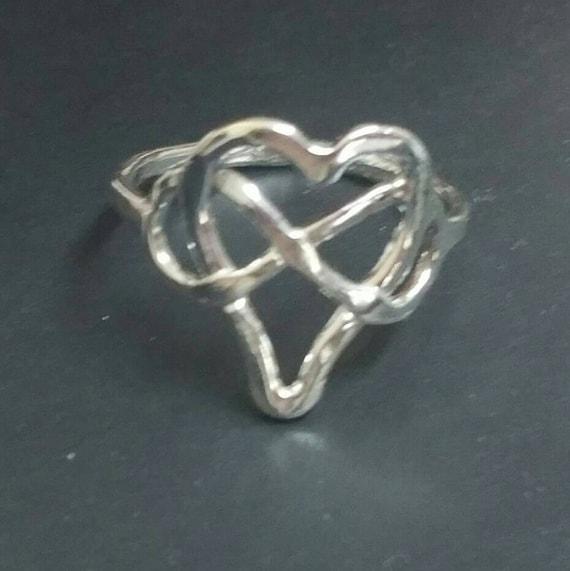 Zinni Zoom Women Brown and Dark Blue Hearts Cross Infinity Leather Charm Bracelet