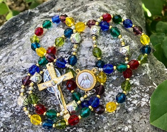 The Sycamore Tree Stained Glass Chapel Rosary