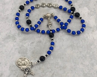 Boys Custom Keepsake Personalized Miracle Bead First Holy Communion Rosary