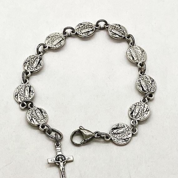 Lourdes Rosary Bracelet
