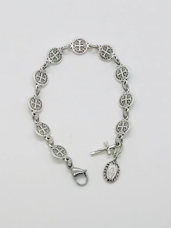 St. Benedict Rosary Bracelet - Classic