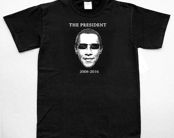The President (Obama in shades)