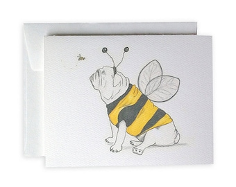 Honeydawg Greeting Card or Notecard Set