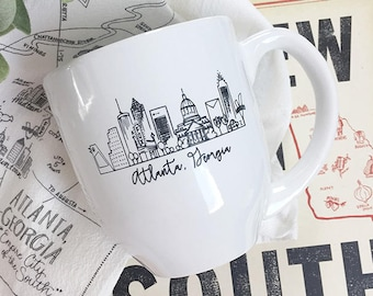 Atlanta, Georgia Skyline Mug