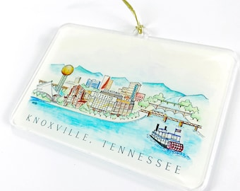 Knoxville Acrylic Ornament