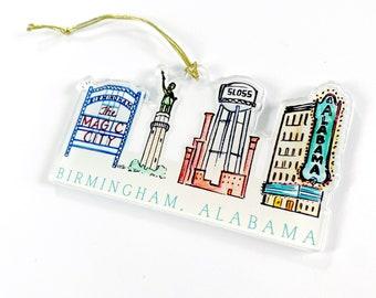 Birmingham Acrylic Ornament