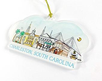 Charleston Acrylic Ornament