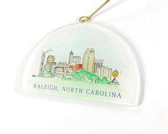 Raleigh Acrylic Ornament