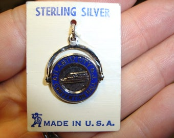 Atlantic City Convention Hall Sterling Bracelet Charm