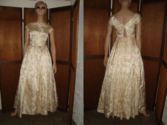 50's Wedding Dress Vogue Couturier