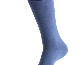 David's Bridal match Steel Blue  specialty color Grooms socks